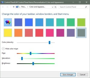 How to customize and change Windows 10 colors