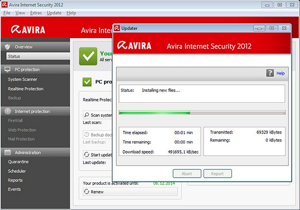 Avira Virus Definitions